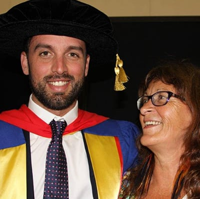 Youngest person in Australian History to get Hon Doc